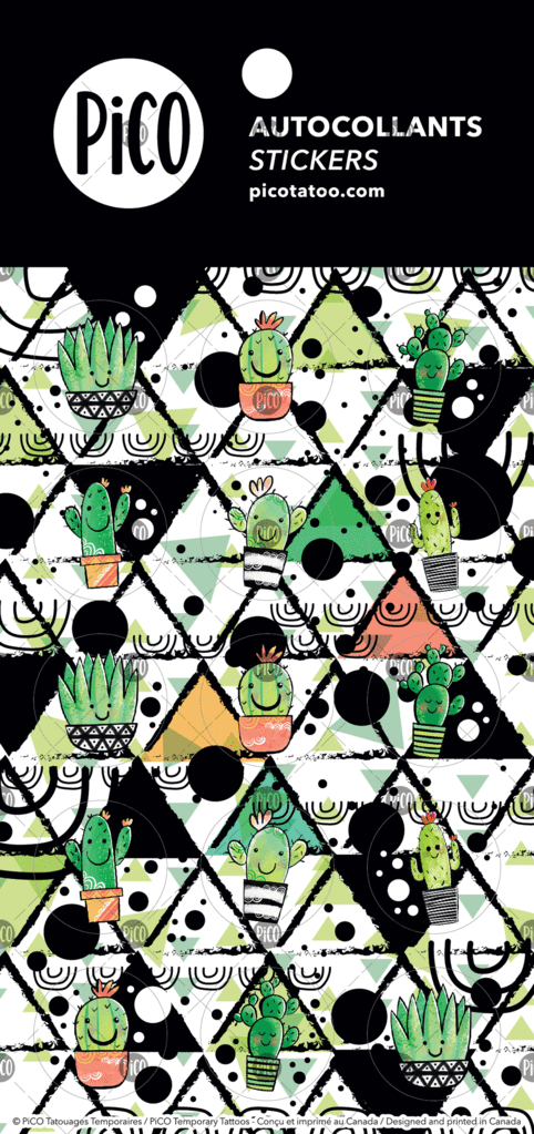 Stickers - Cactus - PICO tattoos