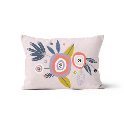 Boho babes - minky pillowcase