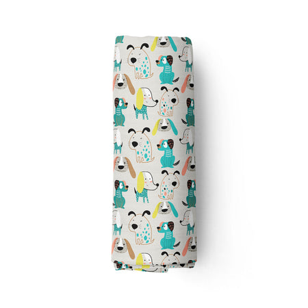 Bougie pooches - bamboo muslin swaddle