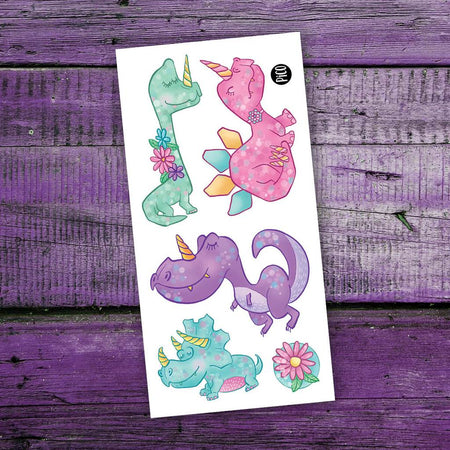 Children tattoos*** -  Dino Princess - PICO tattoos
