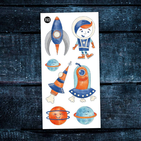Children tattoos*** - Let's go for space! - PICO tattoos