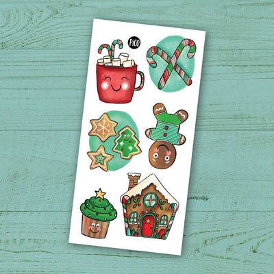 Children tattoos*** - Christmas sweets - PICO tattoos