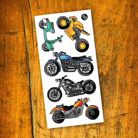 Children tattoos*** - Motorcycle love - PICO tattoos