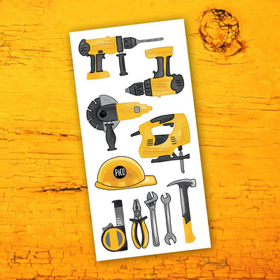 Children tattoos*** - Construction tools - PICO tattoos