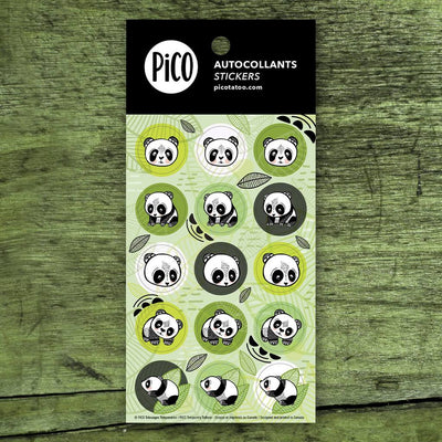 Stickers - The pandas - PICO tattoos