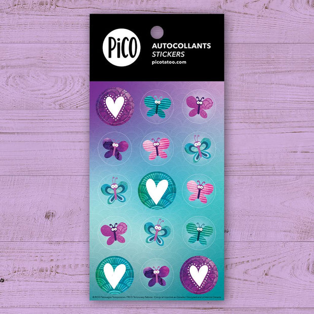 Stickers - Butterflies - PICO tattoos