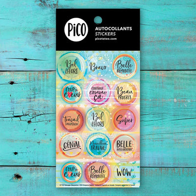 Stickers -   Sweet little words - PICO tattoos