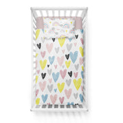 Lazy luxury - bedspread in reversible minky (crib)