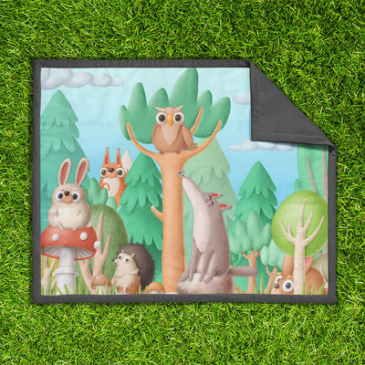 Happy campers – play mat