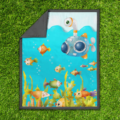 Underwater spies – play mat - NEW ARRIVAL