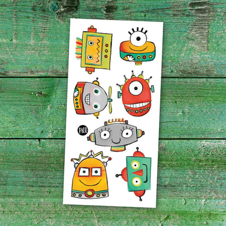 Children tattoos*** -  Robots - PICO tattoos