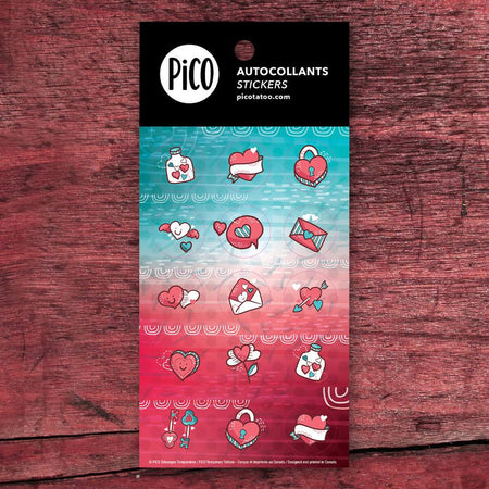 Stickers - Valentine's Day - PICO tattoos