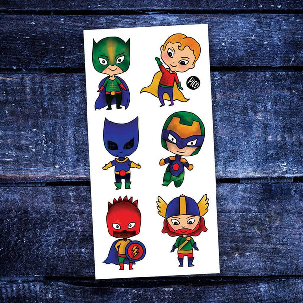 Children tattoos*** -The little super-heroes - PICO tattoos