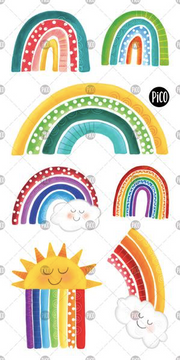 Children tattoos*** - Rainbows - PICO tattoos