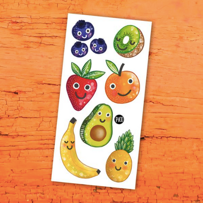 Children tattoos*** - Crazy fruits - PICO tattoos