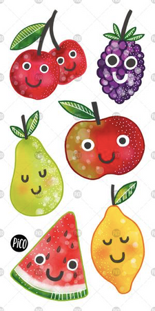 Children tattoos*** - Fruits salad - PICO tattoos