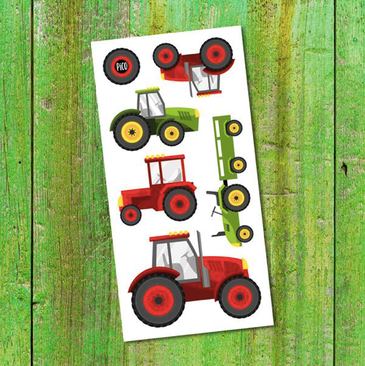 Children tattoos*** - Tractors - PICO tattoos