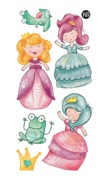 Children tattoos*** - Princesses - PICO tattoos