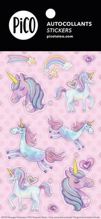 Stickers - Cute unicorns - PICO tattoos