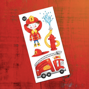 Children tattoos*** - Max the firefighter - PICO tattoos