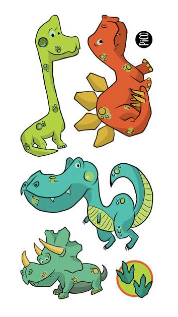 Children tattoos*** - Dinosaurs - PICO tattoos