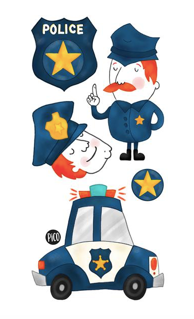 Children tattoos*** - Mathis the police - PICO tattoos