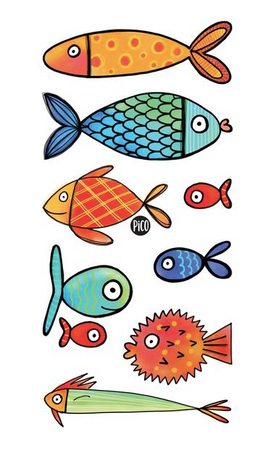 Children tattoos*** - Fishes - PICO tattoos