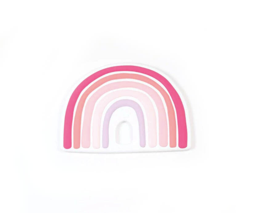 Pink rainbow - Blanket toy