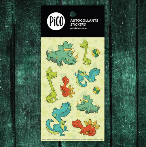 Stickers - Dinos - PICO tattoos