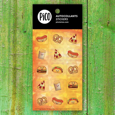 Stickers - Savoury treats - PICO tattoos