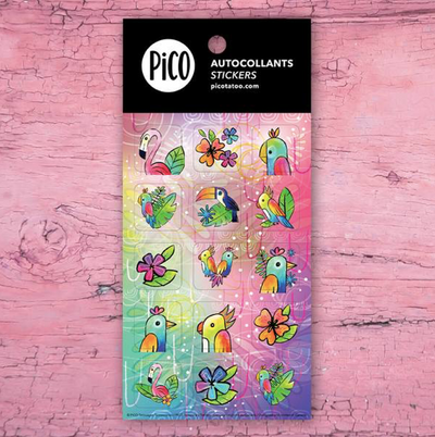Stickers - The toucan - PICO tattoos
