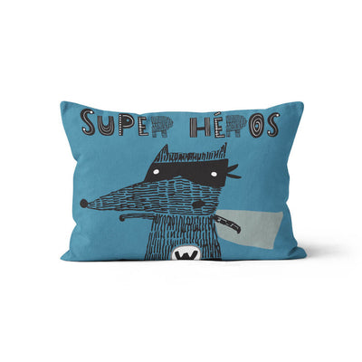 Super-friends - minky pillowcase