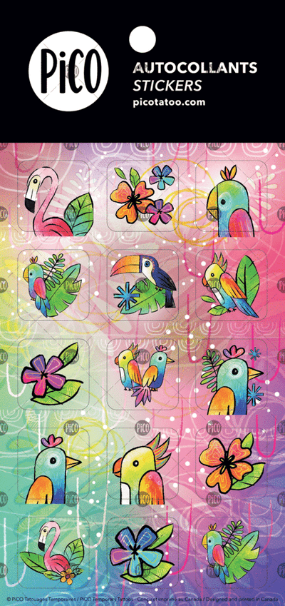 Stickers*** - The toucan - PICO tattoos