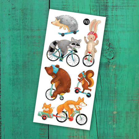 Children tattoos*** -  Bicycle ride - PICO tattoos
