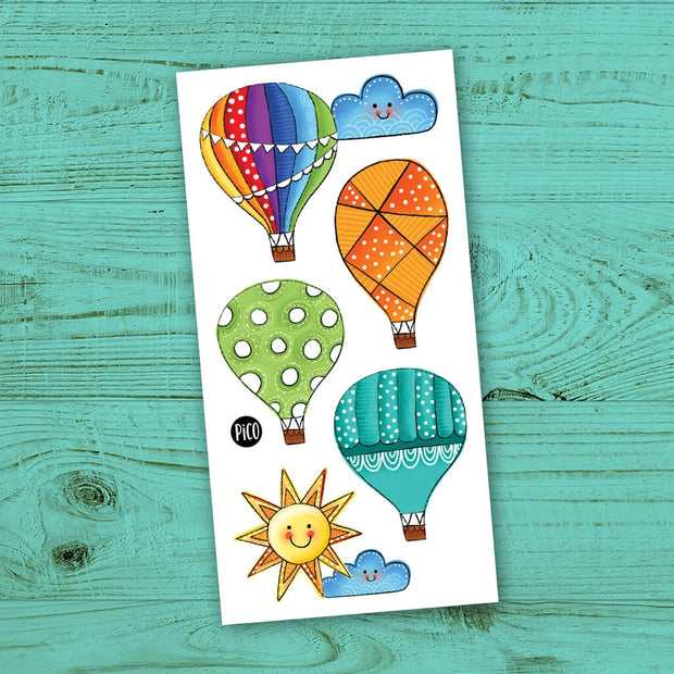 Children tattoos*** -  Hot air balloon trip - PICO tattoos