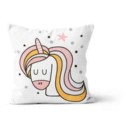 Unicorn in love - cushion cover
