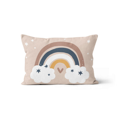 Silver linings - minky pillowcase