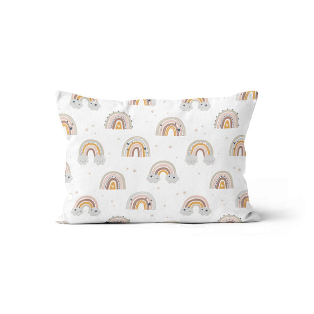 Silver linings - bamboo muslin pillowcase