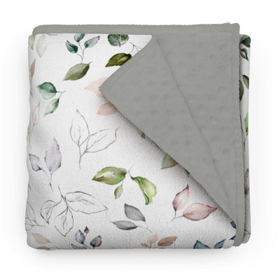 Blooming nature - minky comforters