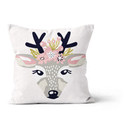 Flower crowns - cushion cover