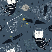 Space race - minky comforter