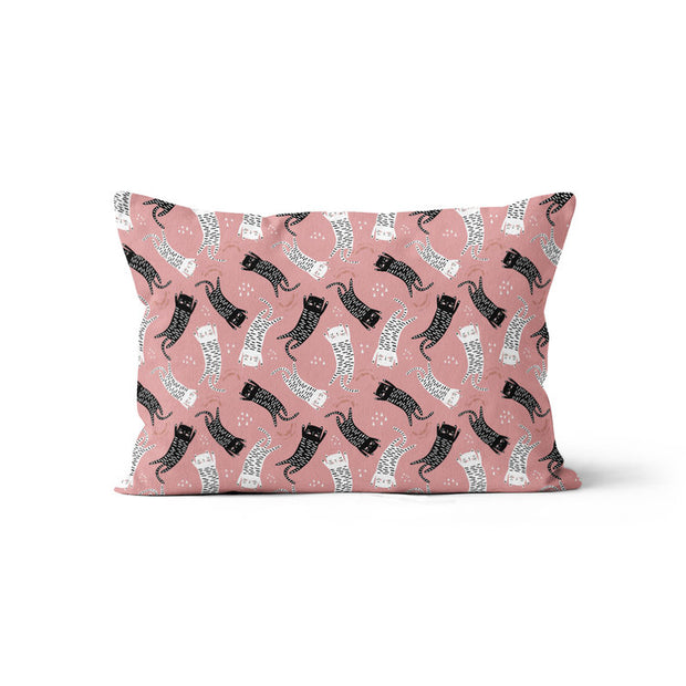 Sleepy kittens - minky pillowcase
