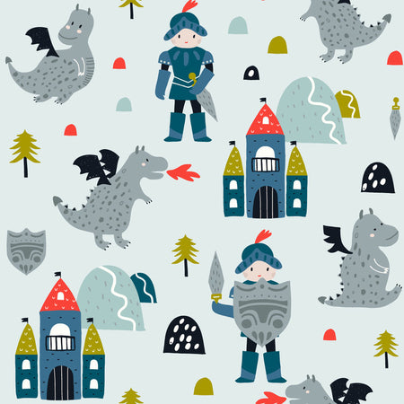 Knight in shining armour - minky comforter