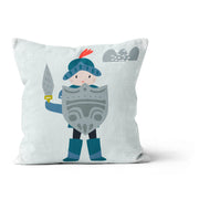 Knight in shining armour - cushion cover