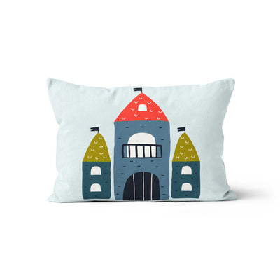 Knight in shining armour - minky pillowcase