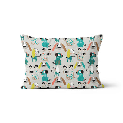 Bougie pooches - minky pillowcase