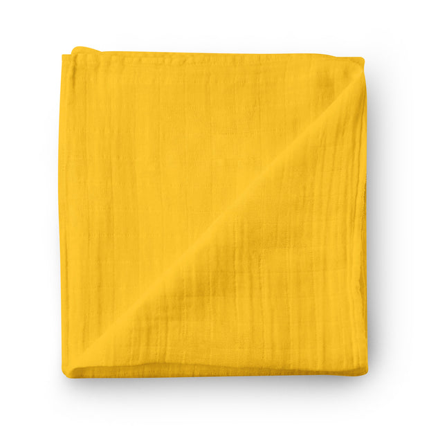 Meyer lemon - bamboo muslin swaddle