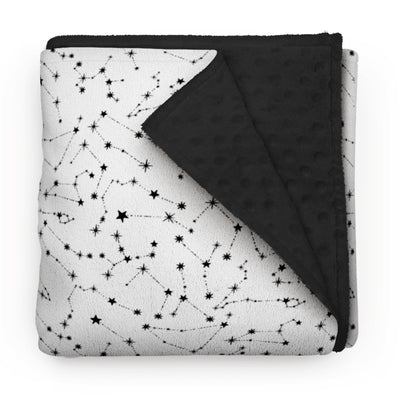 Celestial constellations - minky comforters