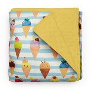 Sweet ice cream - minky comforters