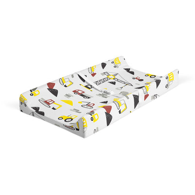 Building dreams - bamboo muslin changing pad cover